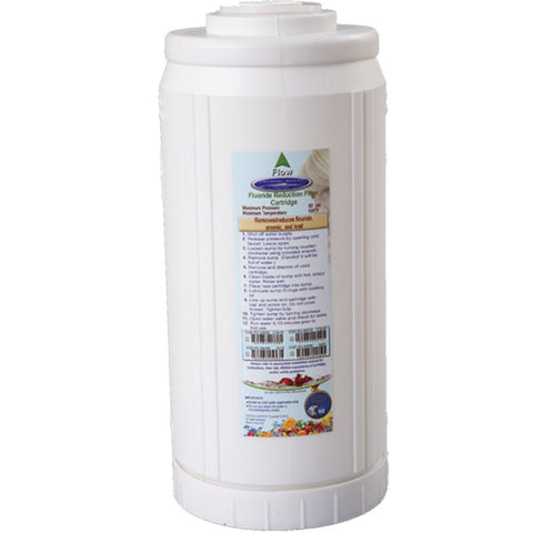 Crystal Quest Fluoride Removal Eagle Activated Charcoal Cartridge