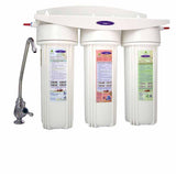 Crystal Quest 8 Stage Triple Under Sink Water Filter
