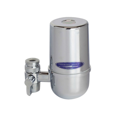 Crystal Quest Faucet Mount Water Filter System