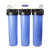 Crystal Quest Big Blue Triple Whole House Fluoride Plus Water Filter