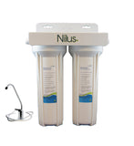 Aquacera NilusTwo Twin Undersink Fluoride Plus Water Filter