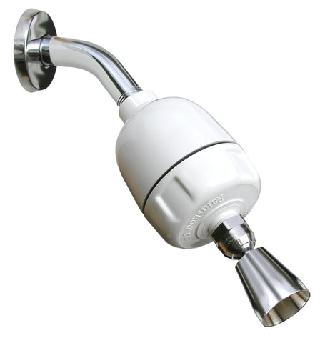 Rainshow'r CQ-1000-DS Shower Water Filter With Designer Shower Head