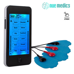 NueMedics Tens Unit Touchscreen EMS Muscle Stimulator Machine [Lifetime Warranty]