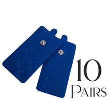 Tens Unit Pads [FDA 510(k) Cleared] 20 Pieces Medical Grade Blue Extra Large Electrodes