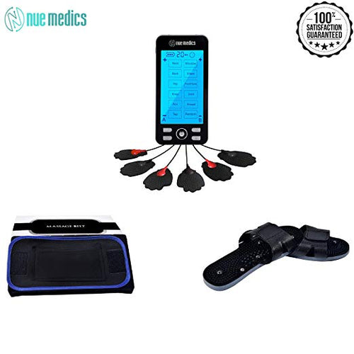 NueMedics Tens 24 Tens Unit + Belt + Shoe
