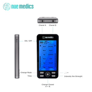 [Newest Model] NueMedics Tens 24 Massager Tens Unit
