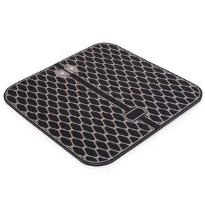 Tens Foot Massager Pad Mat Attachment for NueMedics Tens Unit Machine Massagers