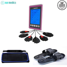 Tens Unit Muscle Stimulator Therapy 12 Massage Modes Complete Set