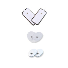 NueMedics TENS UNIT ALL SIZES 1 PAIR OF EACH SIZES TOTALY 6 PADS