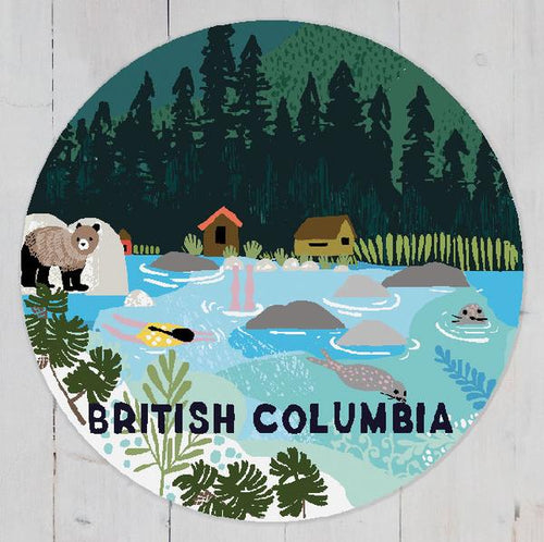 British Columbia Magnet - R