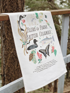 Tea Towel Flora + Fauna