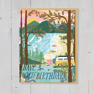 Wild Birthday Greetings card
