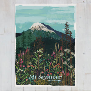 Mt. Seymour Summer Art Print