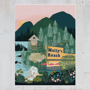 Sunshine Coast Art print