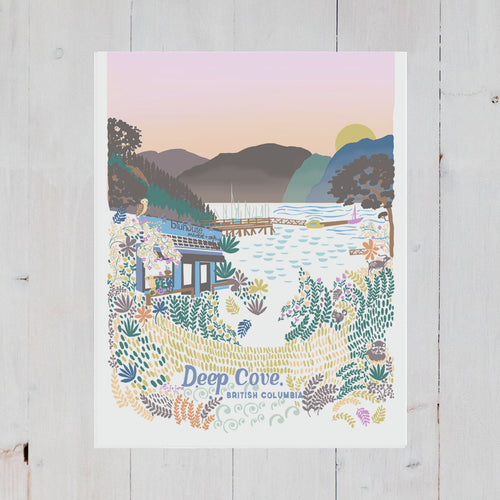 Deep Cove Art Print