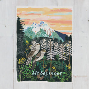 Mt. Seymour Winter Art Print