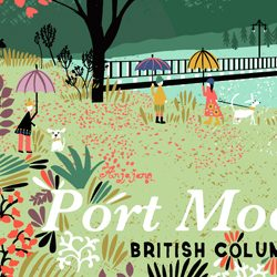 Port Moody Art Print
