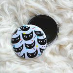 Black Cats Pocket Mirror