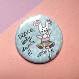 Bunny Ballerina Pocket Mirror