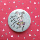 Bunny Ballerina Badge