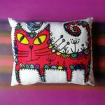 Red Cat Cushion