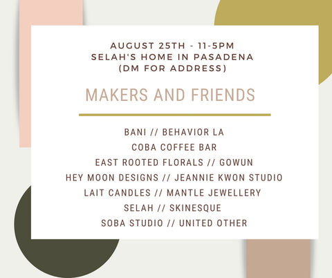 Makers + friends