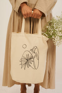 MOON MUSE TOTE