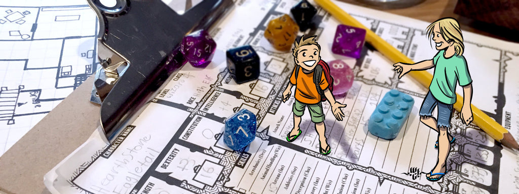Kids of the Tabletop - A family adventure
