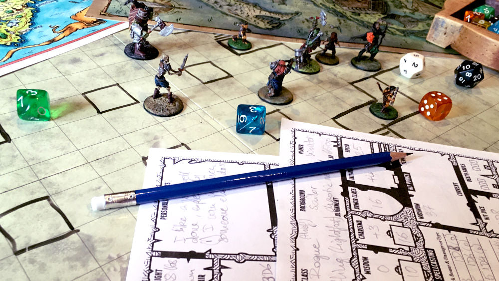 Tabletop action!