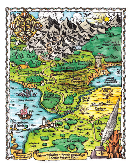 Creative Voyager's Map