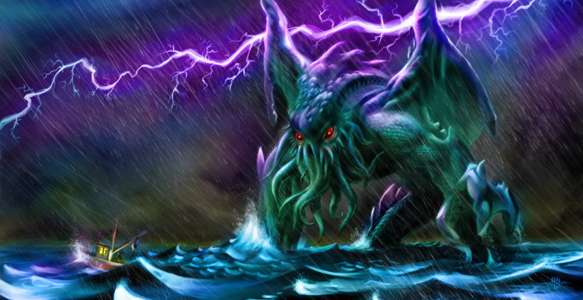 Cosmic horrors of the Call of Cthulhu