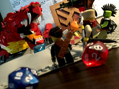 Dungeons & Dragons & Lego
