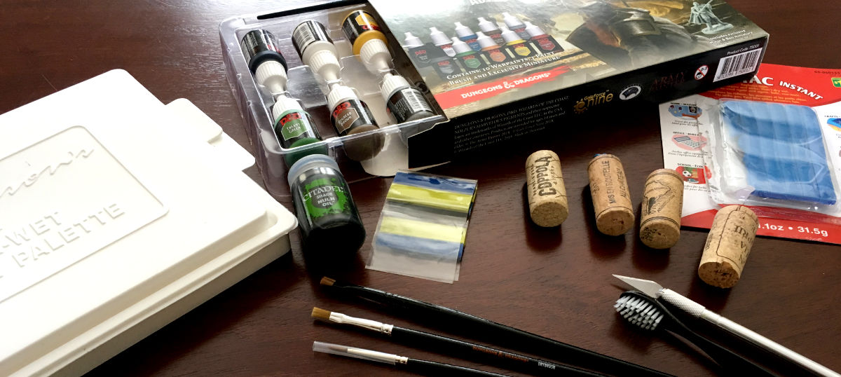 Miniature painting essentials