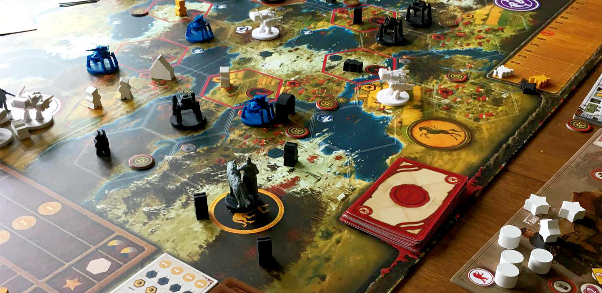 Maps as game boards - functional and artistic