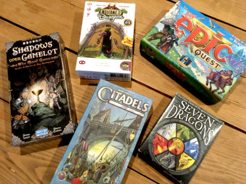 Medieval Fantasy Themed Games