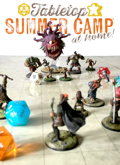 Tabletop Summer Camp at Home!
