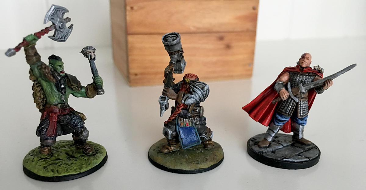 Tabletop RPG miniatures