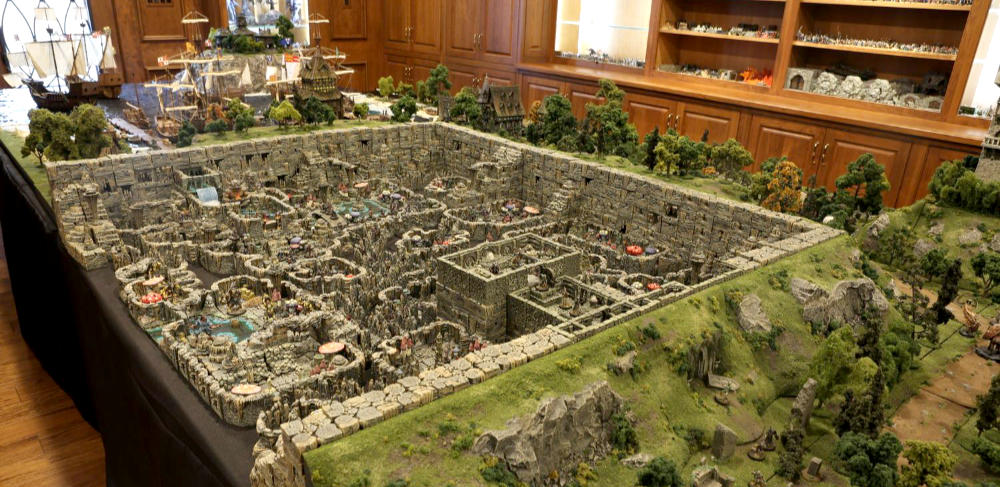 Insane tabletop terrain