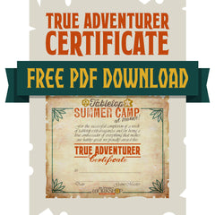 Summer Camp Certificate