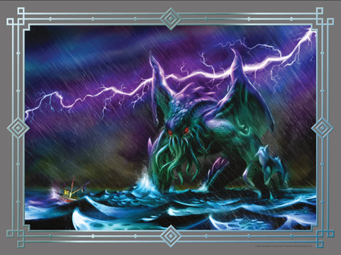 Cthulhu - Thunderstorm Poster