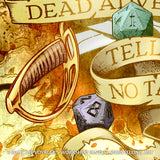 Dead Adventurers Tell No Tales Poster
