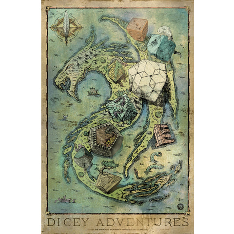 Dicey Adventures Map
