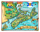 Fantasy Map of the Maritimes