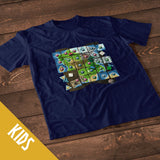 Meeple Power Board Game T-Shirt (Kids)