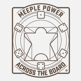 Meeple Power T-Shirt - Light (Women)