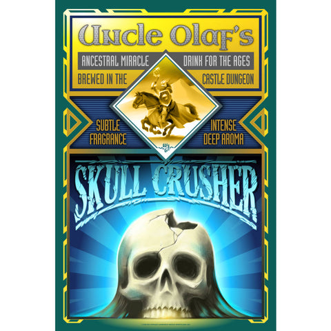 Uncle Olaf's Skull Crusher Poster