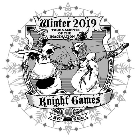 Winter 2019 Knight Games Sweatshirt (Retro)