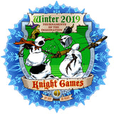 Winter 2019 Knight Games Sweatshirt (Colour)
