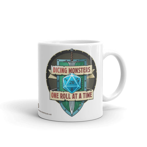 Dicing Monsters Badge Mug