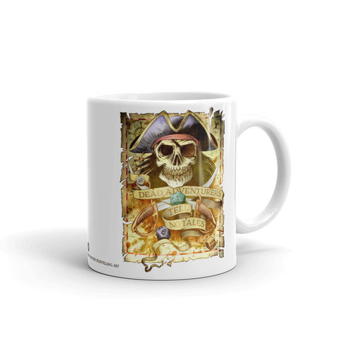 Dead Adventurers Tell No Tales Mug